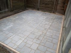 Quikrete Walk Maker #2 This mold makes excellent patios. The finished patio pictured is 12x16 in size and took 48 times filling the molds.