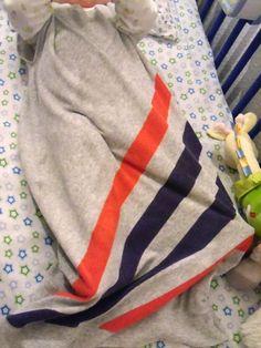 panpancrafts: Tutorial: Baby-Sommerschlafsack / Baby Summer Bedroll (reuse your stuff!)