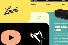 Inspiració: 34 exemples de composicions de web en disseny pla #FlatDesign #layout #dissenyWeb