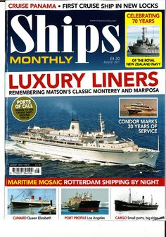Ships Monthly (August 2017)