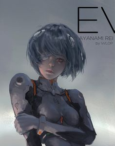 Ayanami Rei by wlop on DeviantArt