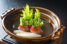 Japanese Food, Panna Cotta, Menu, Soup, Ethnic Recipes, Kitchens, Credenzas, Menu Board Design, Dulce De Leche