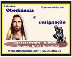 Irmandade espírita José da Luz Convida para a sua Palestra Pública - Mesquita - RJ - http://www.agendaespiritabrasil.com.br/2015/11/12/irmandade-espirita-jose-da-luz-convida-para-a-sua-palestra-publica-mesquita-rj-2/