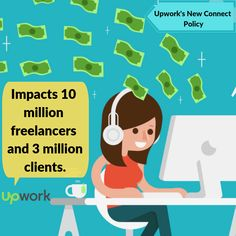 UpWork has recently changed it's connects pricing structure from free to paid, this impacts millions of freelancers. What Is Network, Data Cleansing, Pricing Structure, Connection, Marketing, Feelings, Free