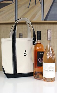 Great gift idea. Three wines in a tote bag!