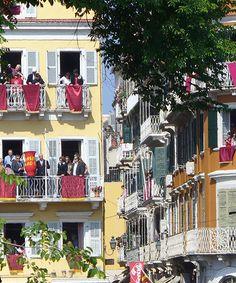 Greek Easter in Corfu May to May 2013 Corfu Holidays, What A Wonderful Life, Orthodox Easter, Greek Easter, Greek Beauty, Go Greek, Greece Islands, Beautiful Islands, B & B