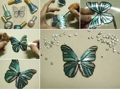 How to make DIY Butterfly with plastic bottles . Like DIY Butterfly made with plastic bottles Kids Crafts, Diy Crafts For Adults, Diy Craft Projects, Crafts To Sell, Diy And Crafts, Easy Crafts, Room Crafts, Crafts Cheap, Summer Crafts