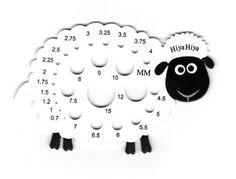 Calibrador aguja oveja