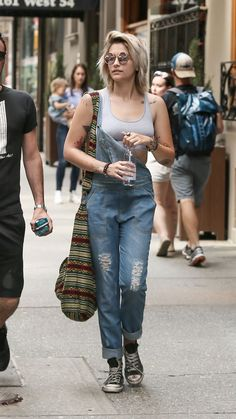 Paris Jackson (age 19) out and about in New York, 04/29/2017.