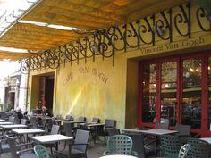 Café Van Gogh in Arles; The Cafe in Van Gogh's painting Café Terrace at Night