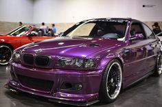 purple bmw | Purple BMW | Flickr - Photo Sharing!