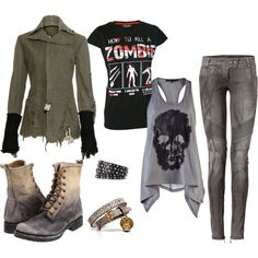 My Zombie Killing Outfit