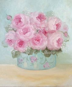 shabby chic painting - Google Search