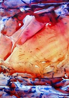 Contemporary Watercolor Artists | ORIGINAL CONTEMPORARY ABSTRACT WATERCOLOR PAINTING BY COLLEEN SANCHEZ ...