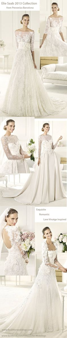 #Lace wedding dresses #Vintage #wedding dresses http://www.finditforweddings.com