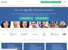 freelance websites toptal
