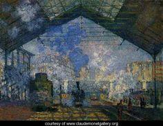 0258 The Saint-Lazare Station 2 1877