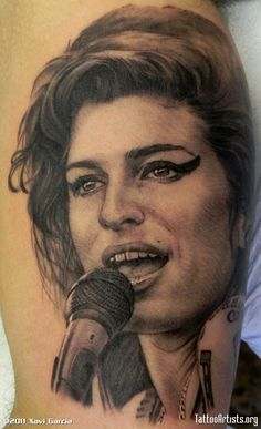 """Amy winehouse tattoo"""