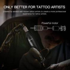 These Best tattoo machines that will refine your art,Dragon hawk Mast Pen Rotary Tattoo Machine Coil Tattoo Machine, Rotary Tattoo Machine, Perfect Image, Perfect Photo, Love Photos, Cool Pictures, Best Tattoo Machines, Hawk Tattoo, Tattoo Needles