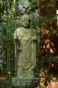 Engakuji Jizo The Engakuji temple is on the second of the Five Mountains, the Great Zen Temples of Kamakura.