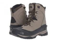 The North Face Chilkat EVO (Split Rock Brown/Gingerbread Brown) Men's Lace-up Boots