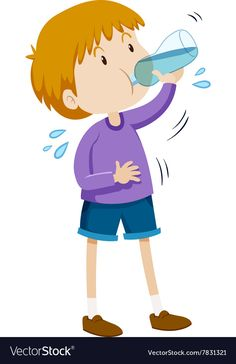 Boy drinking water from bottle Royalty Free Vector Image Kindergarten Activities, Learning Activities, Kids Learning, Activities For Kids, Classroom Birthday, Flashcards For Kids, Action Cards, Exercise For Kids, Cartoon Pics