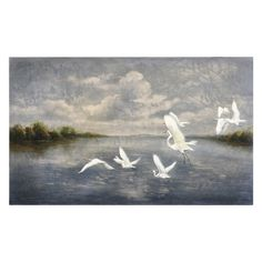 Have to have it. Uttermost Arrival Of The Birds Wall Art - $301.4 @hayneedle.com