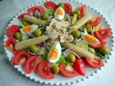 Ensalada - yes, a truly Spanish salad!