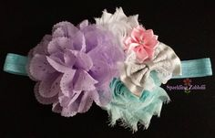 Aqua baby Headband,Lilac newborn headband,Toddler headband,baby girl headband,Gray Lace headband, Pink headband, Easter headbands,White bows
