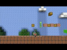 Gavin and Geoff recreate Super Mario Brothers level 1-1 in Minecraft for the Xbox 360.  This is actually really awesome.