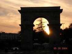 Sunset in Dijon, France