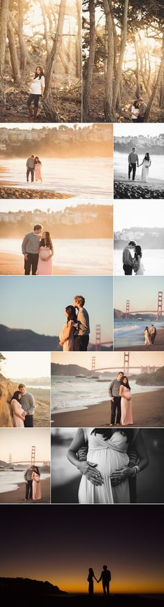 Baker Beach Maternity Session ~ San Francisco Bay Area Maternity Photographer