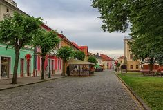 Old street in Kezmarok by day, Slovakia Old Street, Famous Places, Travel Photos, Fine Art America, Poster, Beautiful, Travel Pictures, Posters, Travel Photography