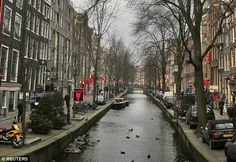 Two British tourists have died in Amsterdam (file picture) after snorting what is believed to have been white heroin sold to them as cocaine