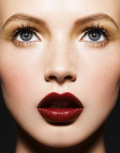 #FW12 inspiration: deep red lips  #TopshopPromQueen