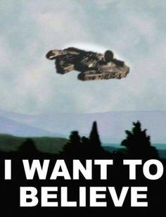Star Wars X-Files. Epic.