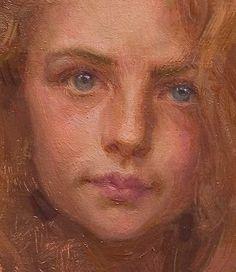 """detail """"Sweet Face"""" by Scott Burdick"""