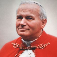 Pope John Paul II was born Karol Jozef Wojtya on May 18, 1920, in Wadowice, Poland.