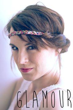 DIY: braided liberty headbands
