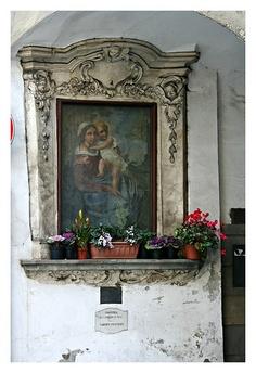 Toscana Pescia Madonna con Bambino di Giovanni da San Giovanni #TuscanyAgriturismoGiratola