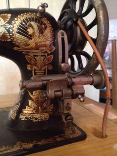 Nähmaschine Antik Frister Possmann Fussbetrieb in in Appenheim   eBay