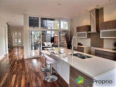 Maison neuve a vendre Montréal, 7778, rue St-André, immobilier Québec | DuProprio