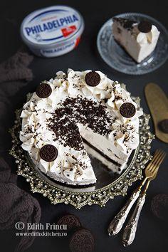 CHEESECAKE CU OREO Edith's Kitchen, Oreo, Acai Bowl, Biscuit, Cheesecake, Sweets, Breakfast, Food, Acai Berry Bowl