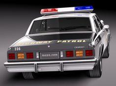 Chevrolet Caprice Sheriff 1978 Police Car http://www.fredandroxanne.com