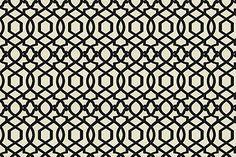 Sultana Lattice - Iman Home Fabrics Noir