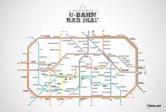 Berlin's first-ever U-Bahn Bar Map