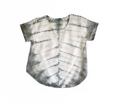 Grey and White Dune Top by KarinaManarin on Etsy, $68.00
