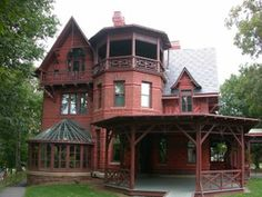 Queen Anne style home.