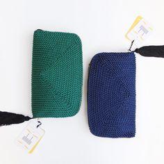 ● Carteras de cordón de seda   Modelo Jimena   Diseños de OLVIDO MADRID  www.olvidomadrid.es
