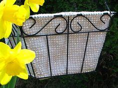 Ravelry: Garden Basket Liner Recipe pattern by StarLysandra Cole
